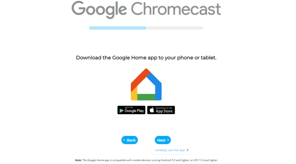 How to connect chromecast to Wi-Fi