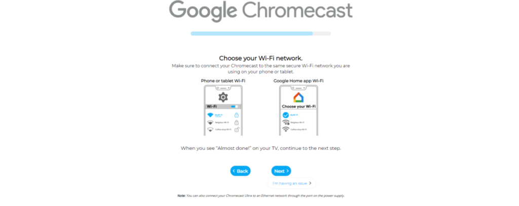 How to connect Google Chromecast to Wi-Fi